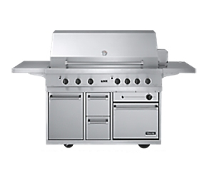 viking gas barbeque grill